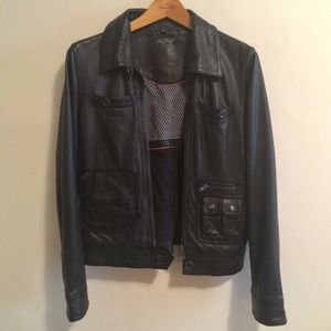 NAFNAF Genuine Leather Jacket from Paris Size Eu42